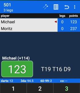 Darts Scoreboard – die App zum Punkte zählen