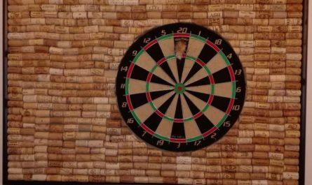 Wandschutz für Darts