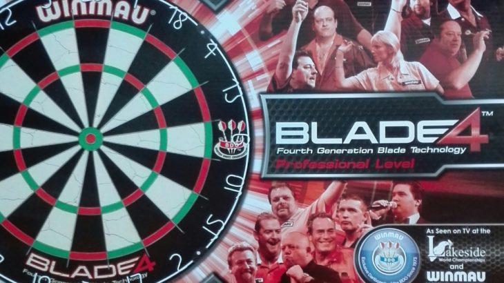 Das Winmau Blade 4 ist das ideale Dartboard für Fortgeschrittene!