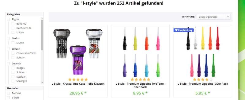L-Style Darts