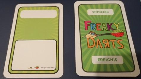 Darts Kartenspiel